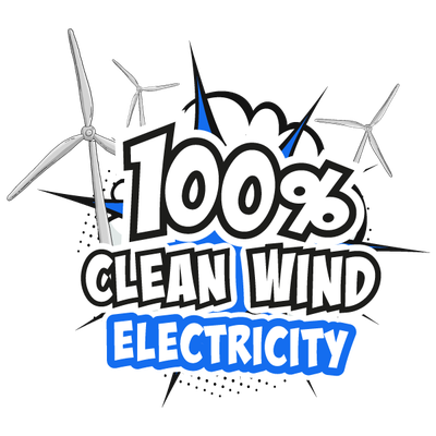 100 percent clean wind energy