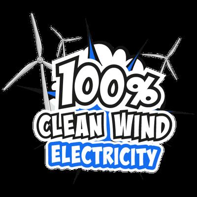 100 percent clean wind energy
